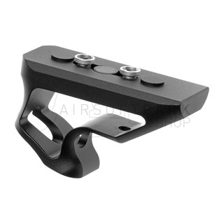 CNC Keymod Short Angled Grip  Black