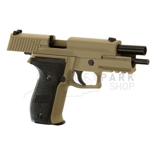 P226 Mk25 Navy Seals Full Metal Desert GBB Desert