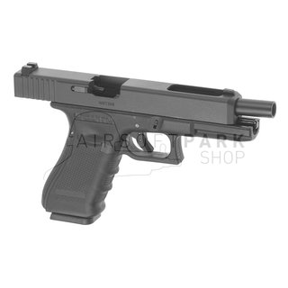 WE35 Gen 4 Metal Version GBB Black