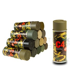 C4 Mil Grade Color Spray RAL 6040