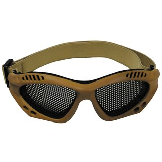 Gitterbrille Airsoft TAN
