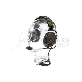 Tier 1 Headset Military Standard Plug Foliage Green