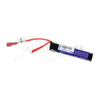 LiPo 11.1V 1100mAh 20C Stock Tube Type T-Plug