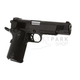 M1911 Tactical Full Metal V3 GBB Black