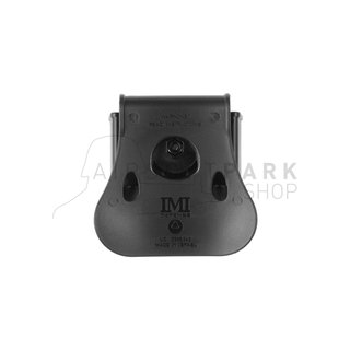 Double Row Double Magazine Pouch Type II Black